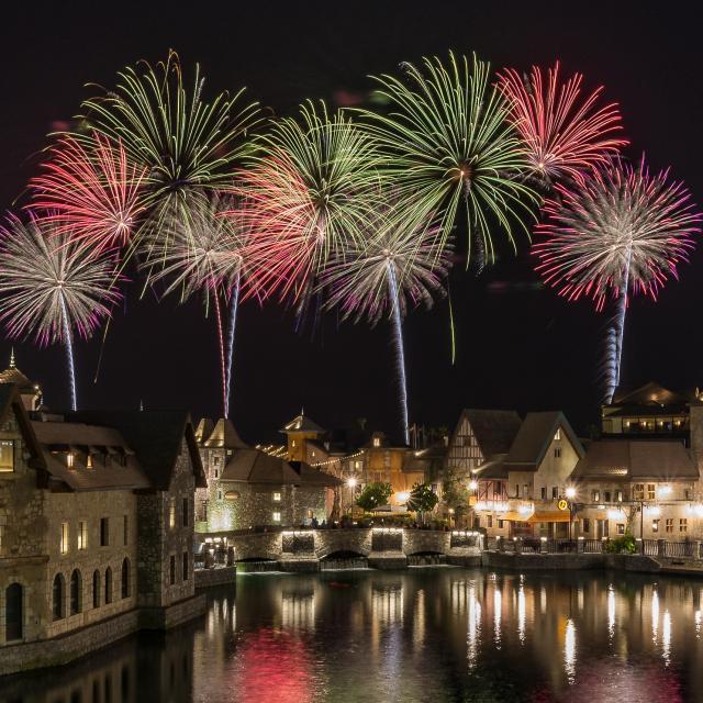 Riverland Dubai Fireworks Show