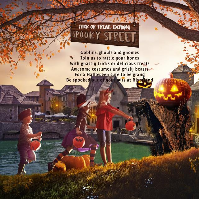 Unforgettable Halloween event at Riverland® Dubai